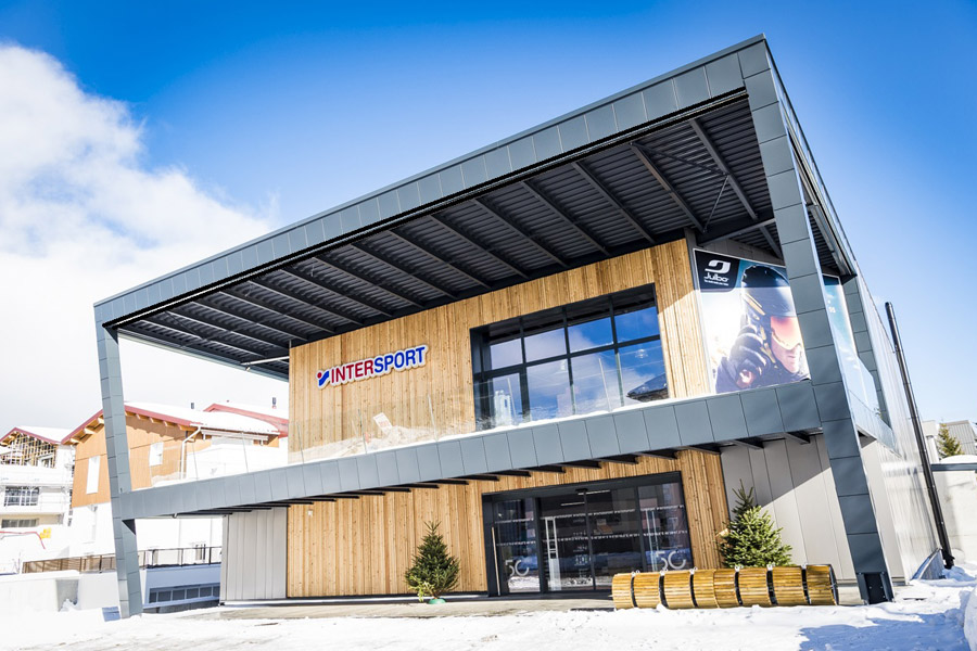 Ski rental Les Rousses Intersport